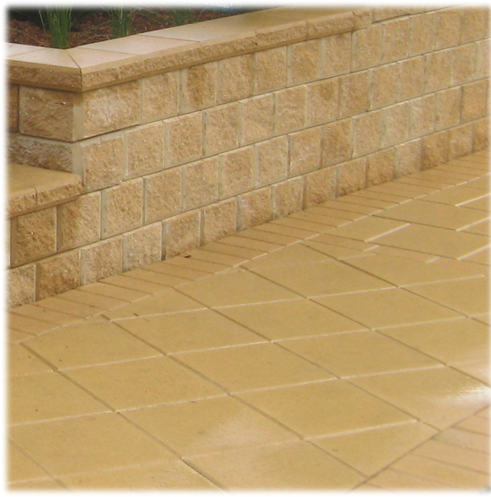 Pavers give long-term service