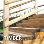 Timber sleepers are a popular and low-cost landscaping essential