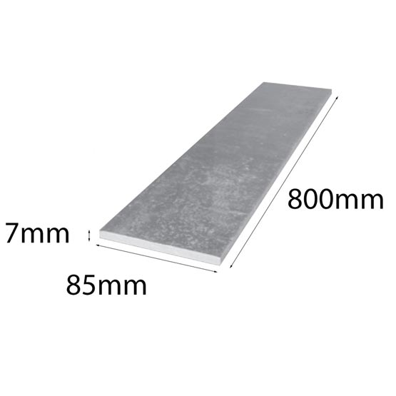 Lintel Flat Bar 85x7x800mm Galintel
