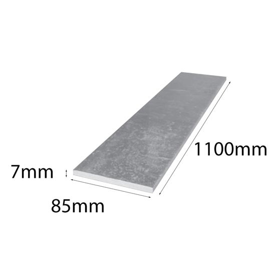 Lintel Flat Bar 85x7x1100mm Galintel