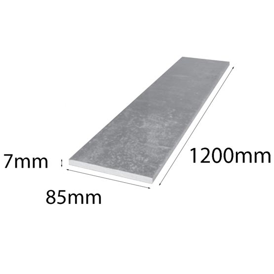 Lintel Flat Bar 85x7x1200mm Galintel