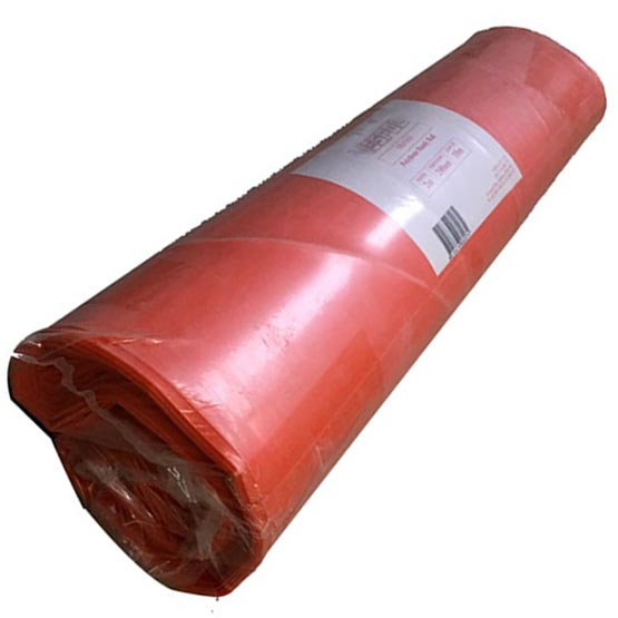 Plastic Orange Roll 4mx50mx200um (0.2mm) thick Builders/Concrete Film
