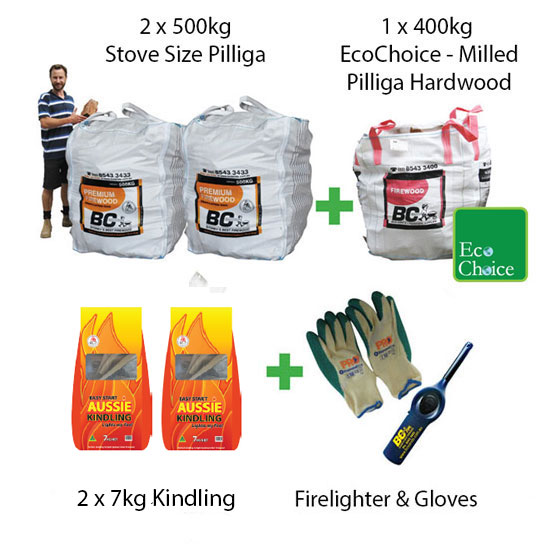 Firewood Mega Pack Stove Size Pilliga (FAA Approved)