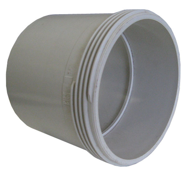 Pipe Coupling PVC DWV 100mm Threaded