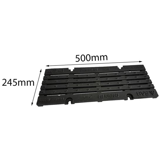 Drain SABdrain 707 Cast Iron Grate Only 500x245