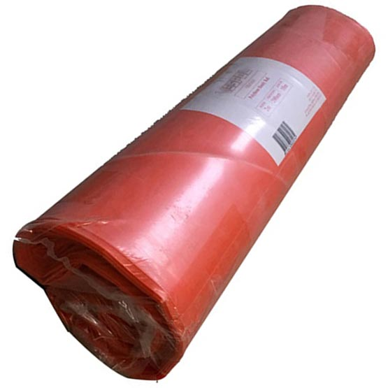 Plastic Orange Handy Roll 2mx20mx200um (0.2mm) thick Builders/Concrete Film