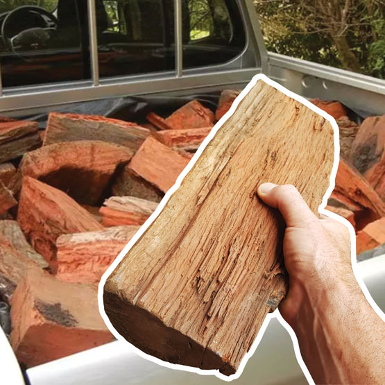 Firewood Ute PIck Up 250kg Stove Size Pilliga (FAA Approved)
